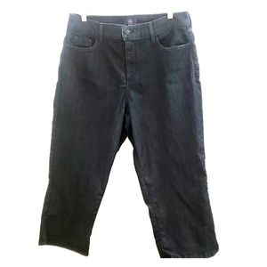 NYDJ Crop Dark Wash Denim Capri P9